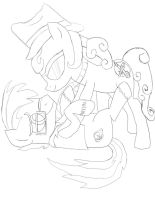 make with head cannon and Any pen by daylover1313