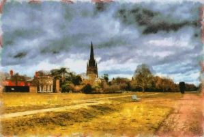Clumber Church - Paintography... by TheBaldingOne