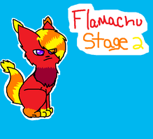 Flameachu Stage 2 by FlameFiggleBottom