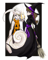 ACNL-A Haunt With Marshal by drawitout