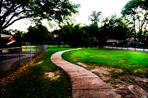 Sidewalk to Childhood by ImagesbyAllieCat