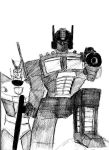 optimus prime and prowl by 1niteknightgoes