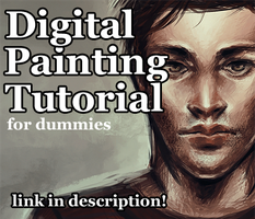 Digital Painting Tutorial - for dummies by herrrox