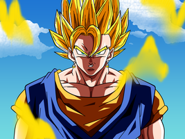 Vegetto Super Saiyan by Dark-Crawler