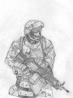 US Marine by death-dealer1368