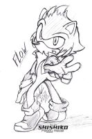 - Gift: Flow the hedgehog - by Pichu-Chan