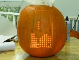 Tetris Pumpkin 2 by ceemdee