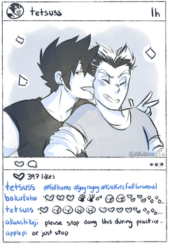 Insta Bros by blargberries