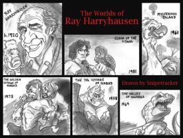 The Worlds of Ray Harryhausen, Part II by Snipetracker