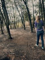 walking the woods of life. by Pikture-Pathetic