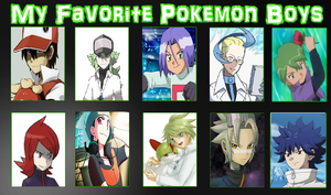 My Favorite Pokemon Boys Meme by PurfectPrincessGirl