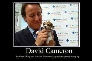 David Cameron demotivator by Party9999999