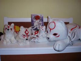 Okami and Okamiden collection by Ishtaryasha