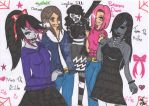 Creepypasta girls we are proud of who we are!!! by Auracly