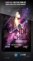 Kandi Chill PSD Party Flyer by ImperialFlyers