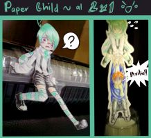 Paper Child 11 + 101 by 0-w-VaLe-Chan-w-0
