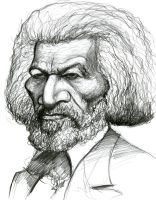 Frederick Douglass by Caricature80