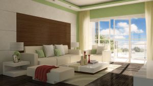 Rendering Test Living Room by Saleri