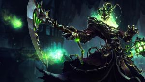 Thresh - League of Legends by yoshiyaki