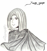 Young Severus Snape by LadyDarkStar