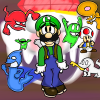 Luigi's Mansion Dark Moon by PoisonLuigi