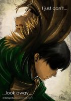 Attack on Titan : Can't look away (SPOILER ALERT) by Mistiqarts