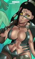 HEADHUNTER NIDALEE! by StretchNSin