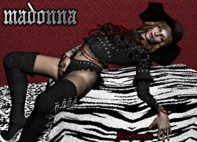 Madonna in Daz3d by Avia-Sunanda