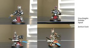 Grey Knights Paladin Justicar by SpearofSicarius