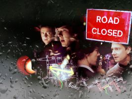 Road closed by Cermisait