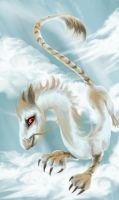 White dragon by Nivalis70