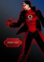 red lantern-JASON TODD by vgmondo
