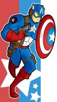 Star Spangled Man by FreakingArG