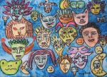 masks of my life by ingeline-art