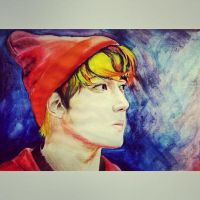 colorful fringe~ ( EXO 's Oh Sehun) by UnsaturatedPaR