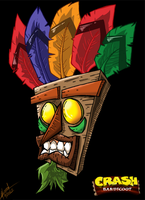 Crash Bandicoot- Aku Aku by SuperManosBros