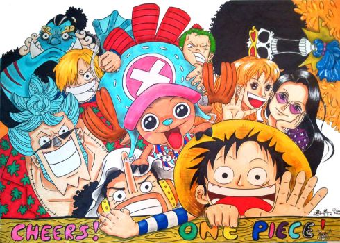 One piece cheers by orange90