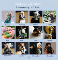 Summary of art 2013 by ShirleysStudio
