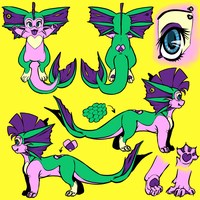 Michi Ref Sheet 2014 by Yo-Angie
