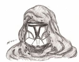 Clone Trooper -Cloaked Menace by Tribble-Industries