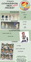 Commissions new prices by tftgar
