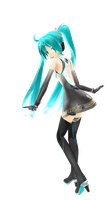 Miku Racing 2011 by KAWAIIDesuNiku