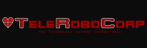 TeleRoboCorp logo with a heart by DiggerShrew