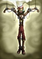 Steam Punk Pinocchio by tommybradnam