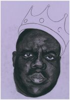 Biggie First Charcoal WIP by allegienceopeth