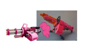 Pinkie Pie Punisher and Vulcan Set by Waldo-xp