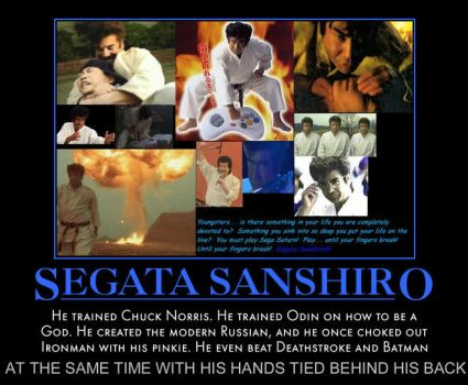 Segata Sanshiro The most badass man who ever lived by MexPirateRed
