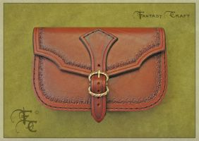 Belt pouch by Fantasy-Craft