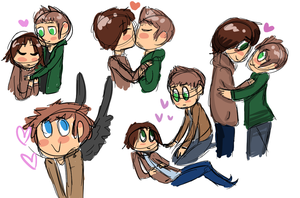 spn doodles by fantasyface