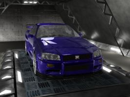 r34 in garage by syncore